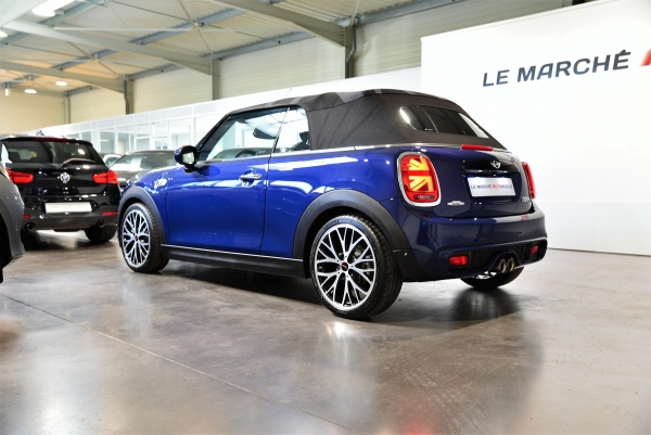 Mini Cabrio Cooper S 211ch Pack Red Hot Chili
