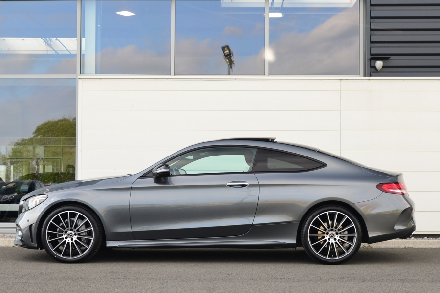 CLASSE C COUPE 220D AMG LINE 9G-TRONIC